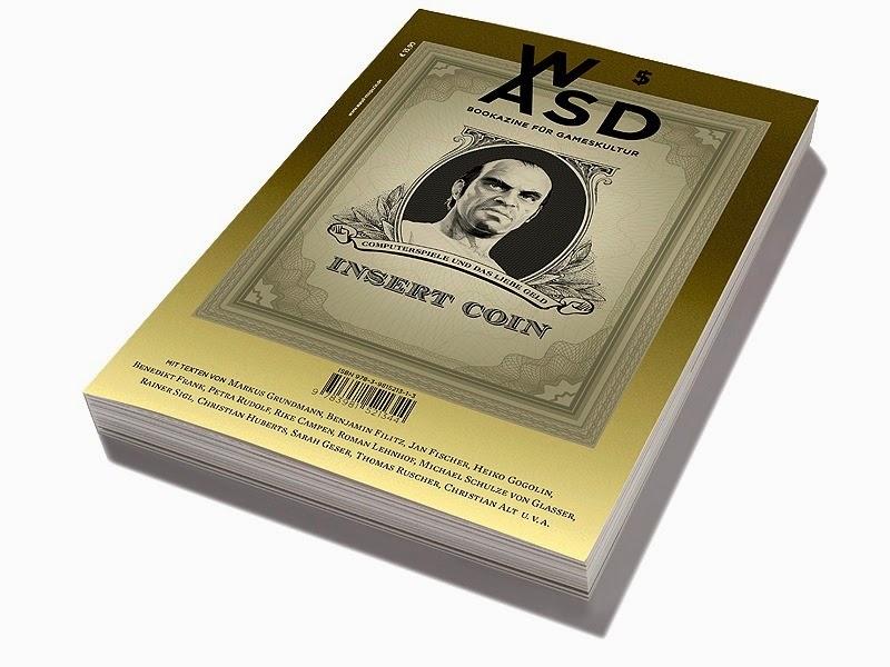 WASD – Bookazine für Gameskultur #5