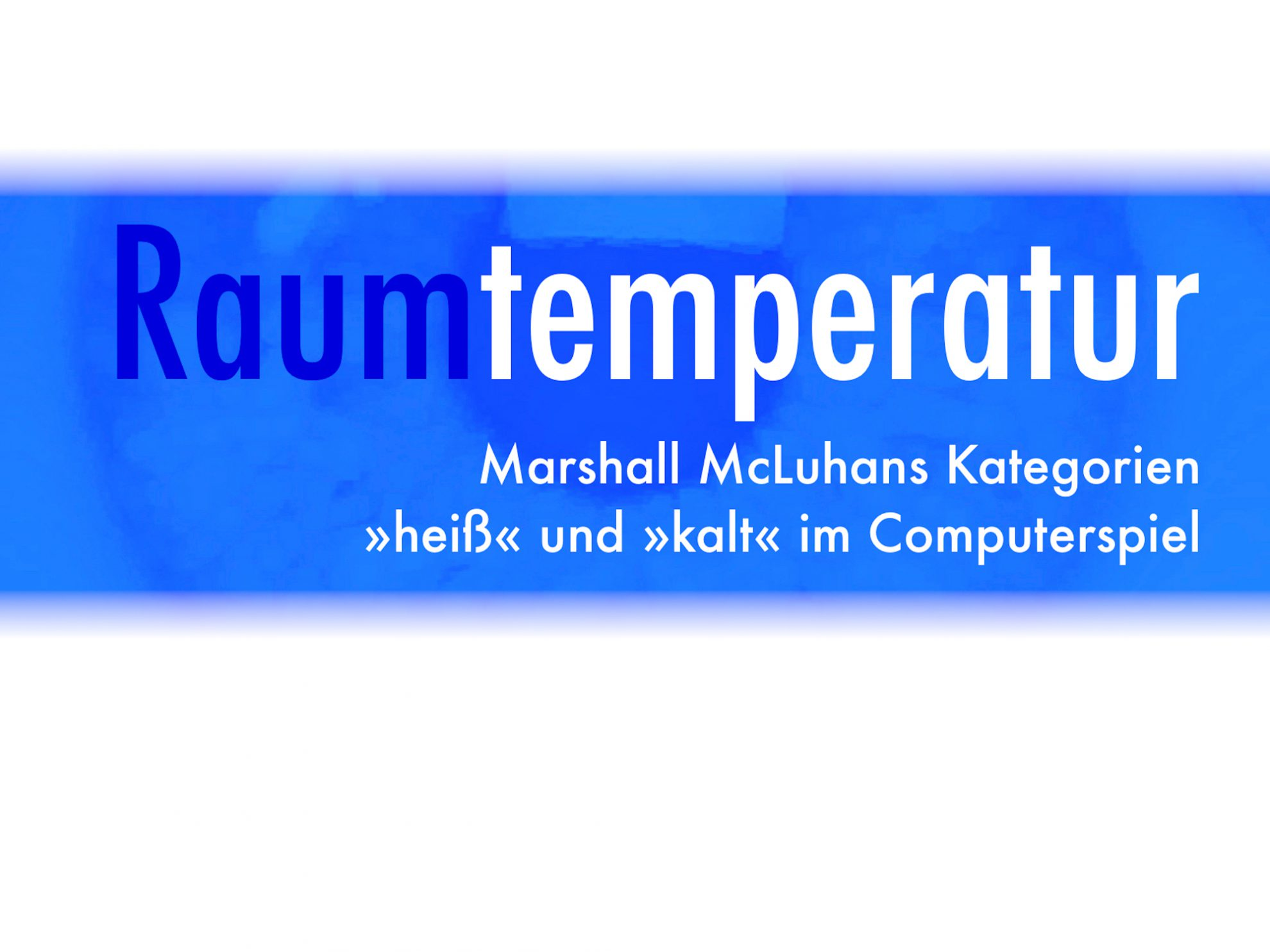 Raumtemperatur Header